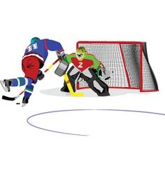 Icehockey vector