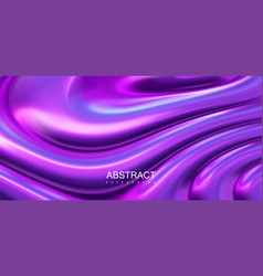 iridescent surface with wavy ripples vector image