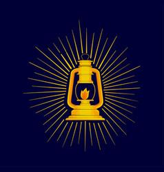 lamp of ramadhan vector image