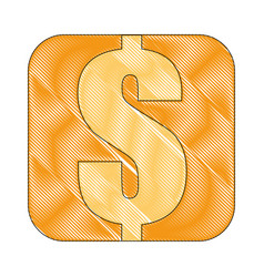 money cash symbol vector image