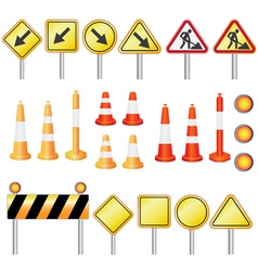 road set vector image