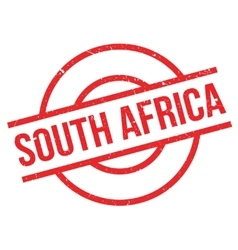 South Africa rubber stamp vector