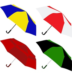 umbrella 01 vector image