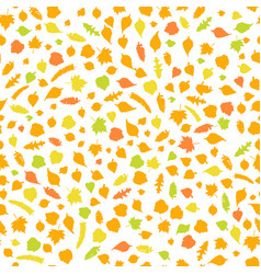 autumn seamless orname vector image vector image