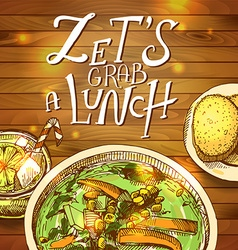 Lunch- vector image
