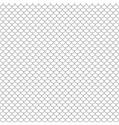 Scales simple seamless pattern vector