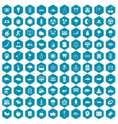 100 harmony icons sapphirine violet vector