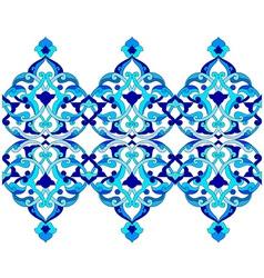 Artistic ottoman pattern series sixty six vector