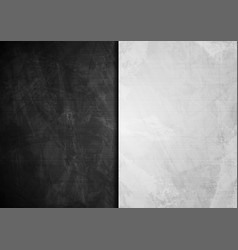 black and white grunge wall textural background vector image