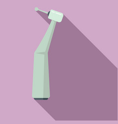 Dentist medical tool icon flat style vector