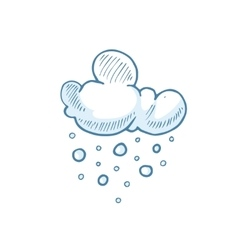 Doodle big set of Hand Drawn Clouds vector