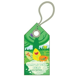 Easter shopping tag vector