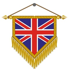 Flag of great britain vector