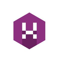 flat icon alphabet x design vector image