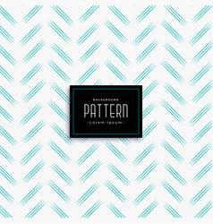 Minimal zig zag style blue line pattern vector