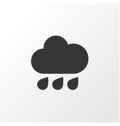 Rain icon symbol premium quality isolated rainy vector