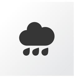 rain icon symbol premium quality isolated rainy vector image