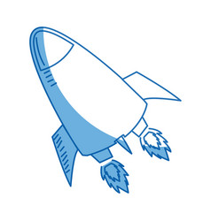 Rocket launch rocket ship business launch product vector