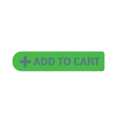 Shopping button icon vector image