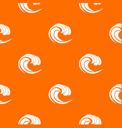 Wave of sea tide pattern seamless vector