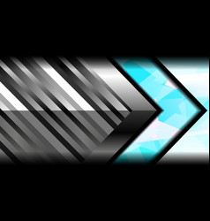 abstract geometric metal color vector image vector image