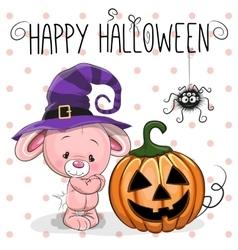 Halloween Rabbit vector image