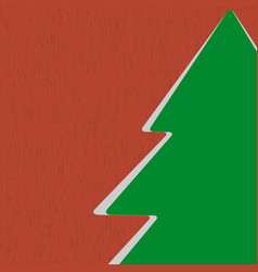 Icon Christmas Tree vector image vector image