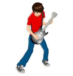 Guitarist vector image vector image