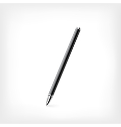 Pen on white background vector image vector image