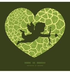 abstract green natural texture shooting vector image