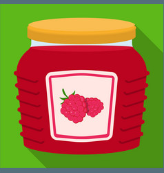 Can and food icon set of vector
