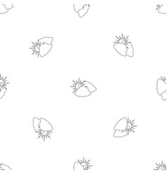 Cloudy pattern seamless vector