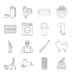 Cooking cleaning history and other web icon in vector