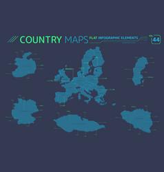 European union germany czech republic sweden vector