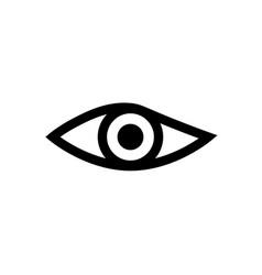 eye icon sign design vector image