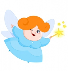 Lovely fairy vector