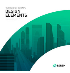 modern background template design for investment vector image