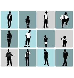 fashion man vector image vector image