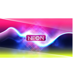 abstract neon colors blur background trendy space vector image