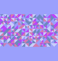 chaotic random geometrical mosaic pattern vector image