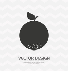 Delicious fruit design vector