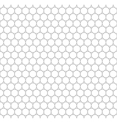 gray grid five millimeters circles seamless vector image