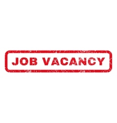 Job Vacancy Rubber Stamp vector