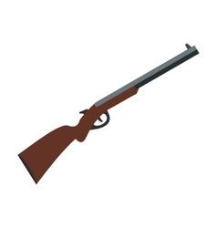 Hunting shotgun icon vector image vector image