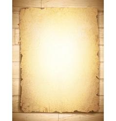 grunge burnt paper vector image vector image