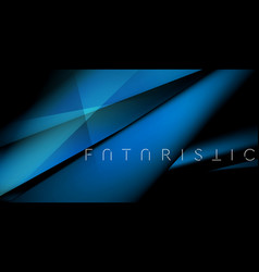dark blue tech futuristic smooth stripes abstract vector image