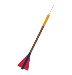 Dart arrow icon vector