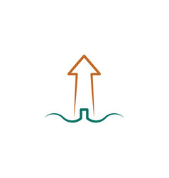 lighthouse icon design element vector image
