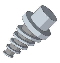 Spiral tool icon cartoon style vector
