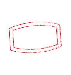 Stamp oval rectangle light 7 vector